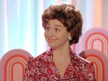 Luisita, una antipática Florinda que se rebela en un programa de televisión