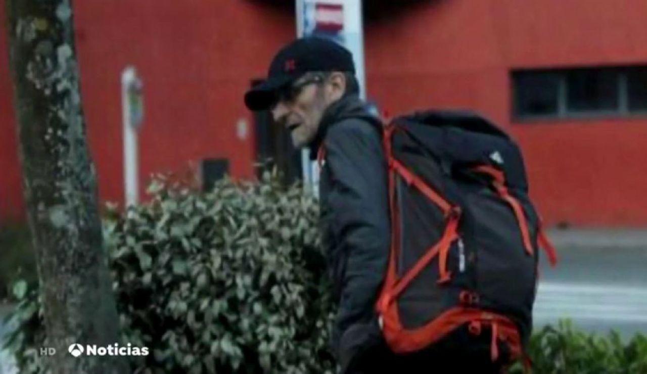 Noticias 2 Antena 3 (17-05-19) Josu Ternera vivía solo en un refugio de montaña y llevaba 4.000 euros en el momento de su detención