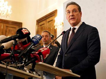 El vicecanciller de Austria, Heinz-Christian Strache