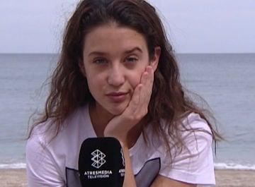 Las dudas y miedos de María Pedraza en el primer día de rodaje en 'Toy boy'