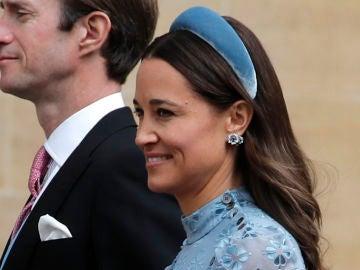 Pippa Middleton en la boda de Lady Gabriella Windsor