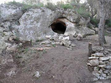 Cueva Foradada de Calafell, en Tarragona