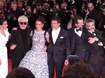 Ovación a Almodóvar en Cannes por su película 'Dolor y Gloria'
