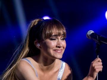 Aitana durante el concierto de 'Los 40 Primavera Pop'