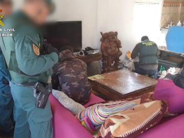 Detenidos 27 miembros de una banda que movía 9 toneladas de hachís en Tarifa