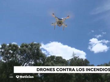 La Policía Local despliega drones para vigilar el campo y prevenir los incendios