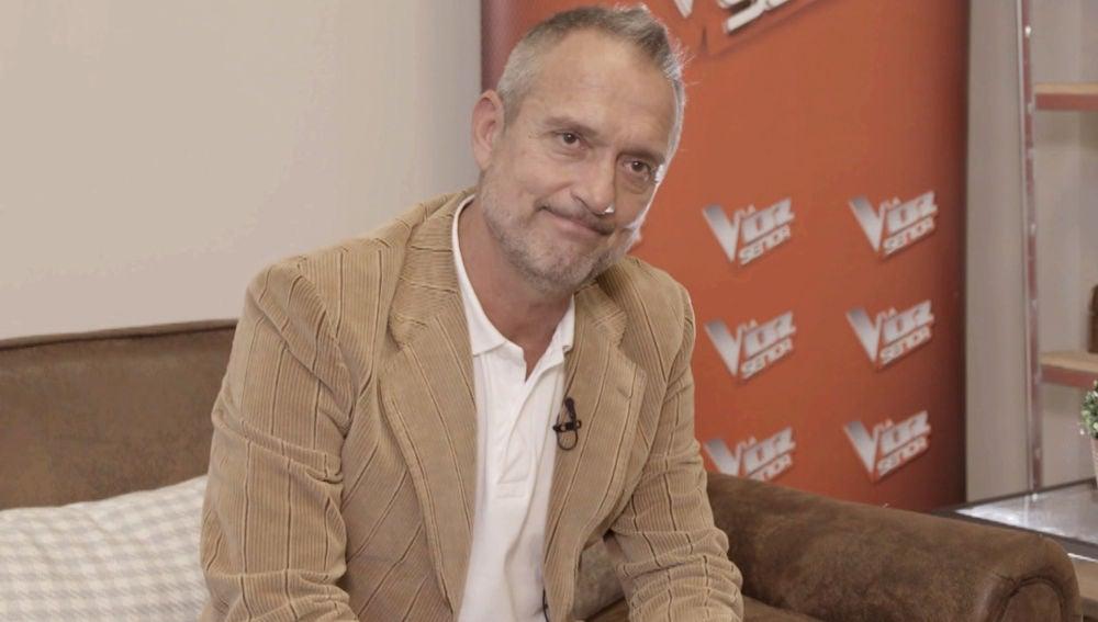 Gonzalo Fernández, talent de 'La Voz Senior'