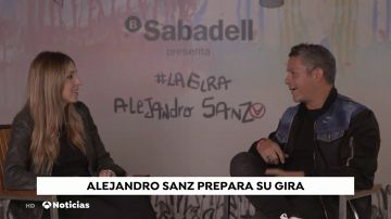 Alejandro Sanz prepara ya su gira