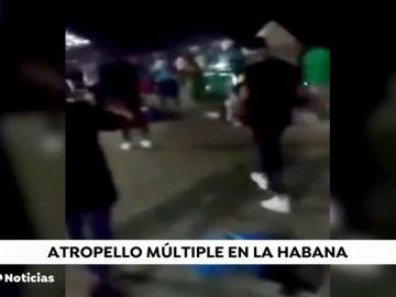 Cuatro muertos y más de 20 heridos en un accidente en La Habana