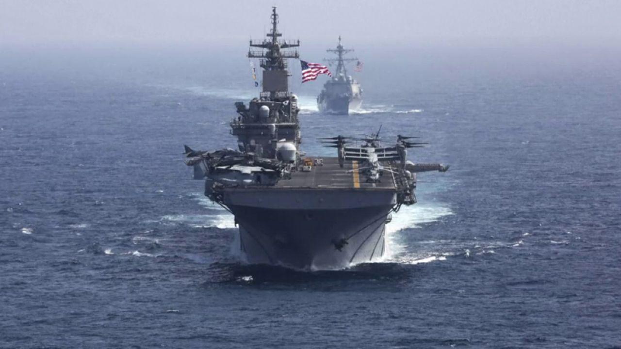 La Armada Estadounidense Ya Se Encuentra En Aguas Del Mar