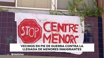 Vecinos en pie de guerra ante la llegada de menores inmigrantes no acompañados