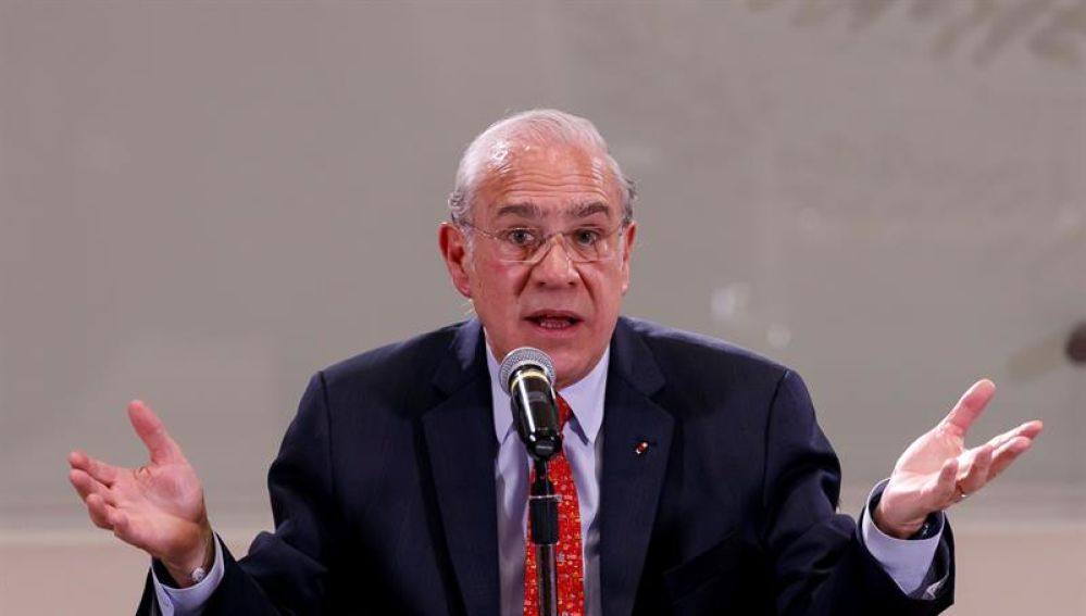 El secretario general de la Organización para la Cooperación y el Desarrollo Económicos (OCDE), José Ángel Gurría