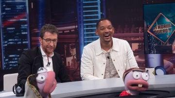 Will Smith distingue a sus amigos 'genializados' por Trancas y Barrancas en 'El Hormiguero 3.0'