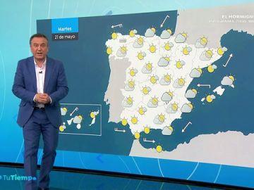 El sol se va imponiendo y las temperaturas suben en el noroeste peninsular
