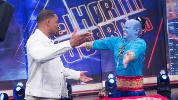 Will Smith, fascinado con la magia del genio Jandro en el programa 2.000 de 'El Hormiguero 3.0'