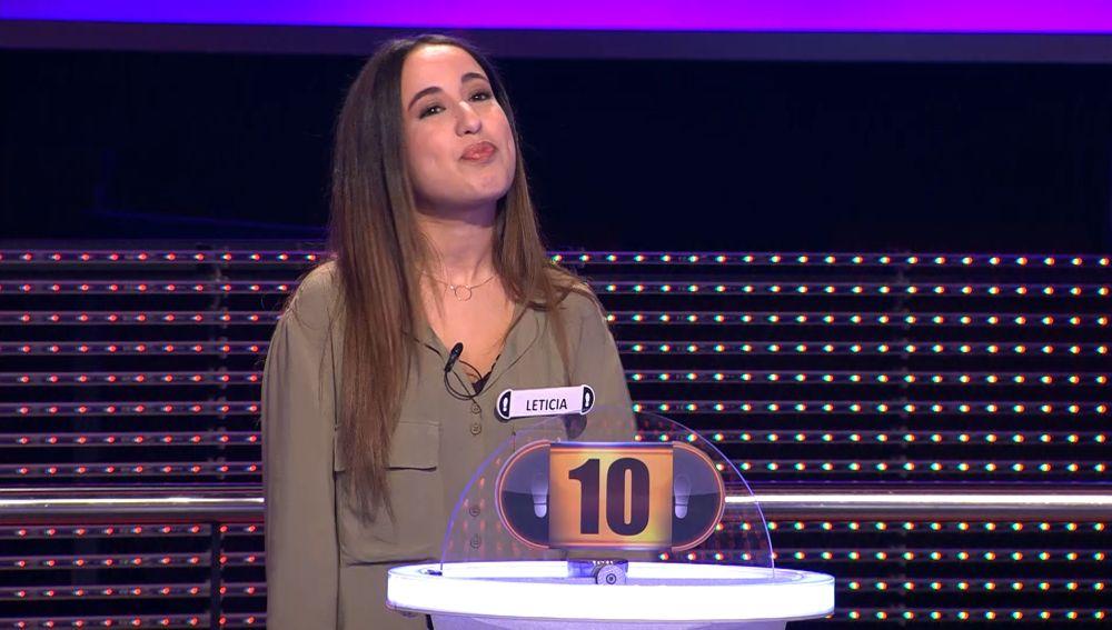 """El increíble motivo por el que Leticia quiere concursar en '¡Ahora caigo!': """"mis amigos se quieren poner labios""""."""