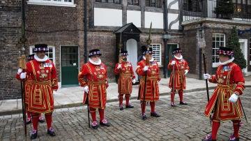 'Beefeaters' de la Torre de Londres