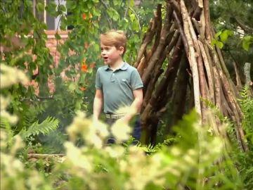 Kate Middleton muestra a sus hijos su nueva faceta: diseñadora de jardines