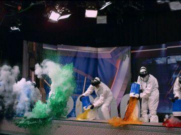 'El Hormiguero 3.0' repite el primer experimento que realizó en televisión, 'El monstruo del váter'