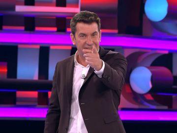 El asqueroso chiste de Arturo Valls en '¡Ahora caigo!'
