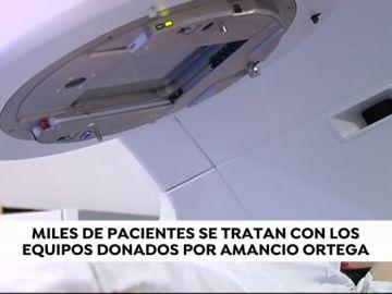 ¿Qué ha donado Amancio Ortega?