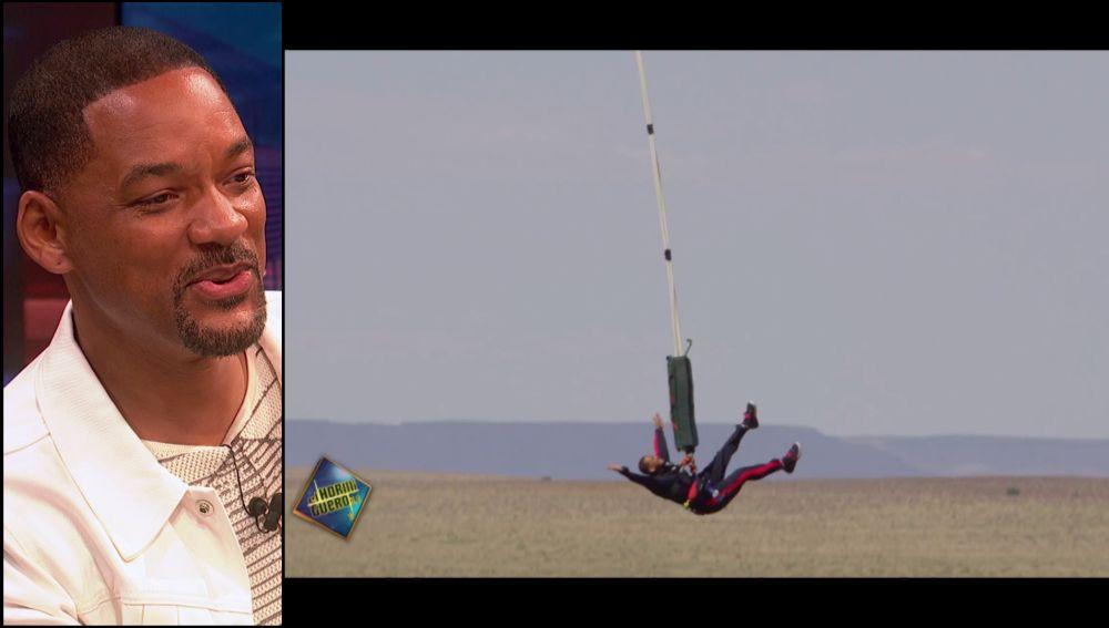 """'El Hormiguero 3.0' recuerda el impresionante salto de Will Smith con el que """"atraviesa"""" el miedo: """"Reconozco ese brillo en los ojos"""""""