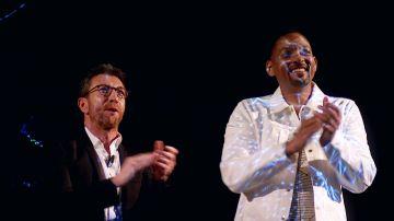 Will Smith y Pablo Motos protagonizan un cruce de declaraciones de amor durante la proyección mágica de un holograma 3D en 'El Hormiguero 3.0'