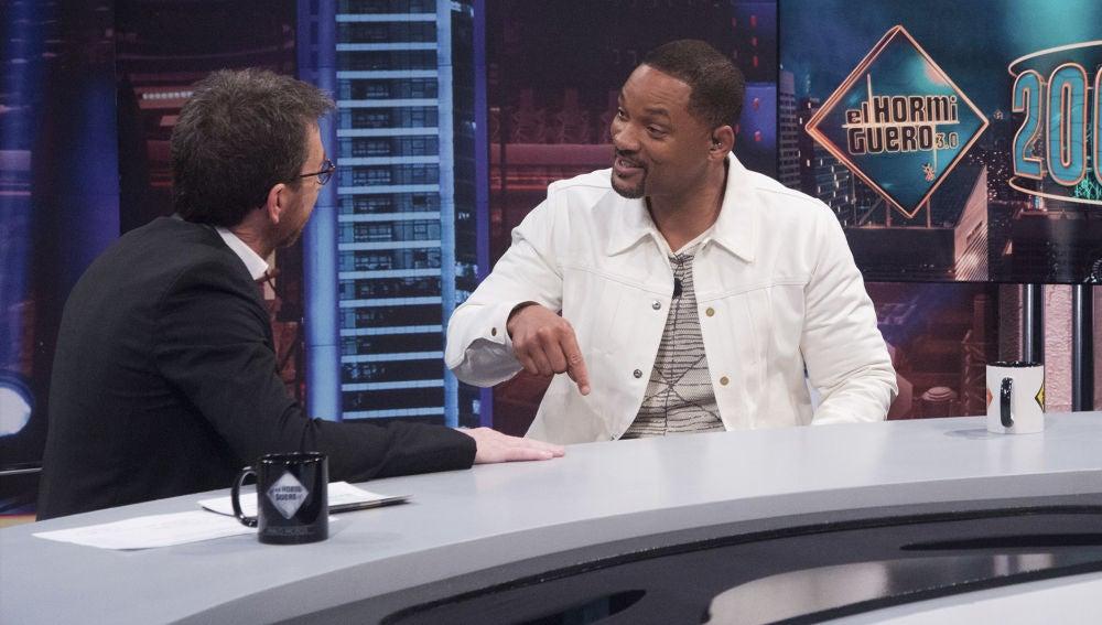 """La gran diferencia en la celebración de los 50 años de Will Smith y Pablo Motos: """"En tu próximo cumpleaños tendrías que intentarlo"""""""
