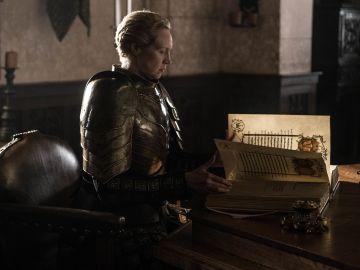Brienne en el final de 'Juego de Tronos'