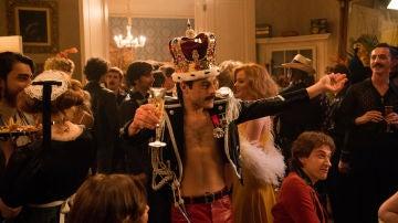 Rami Malek como Freddie Mercury en 'Bohemian Rhaposody'