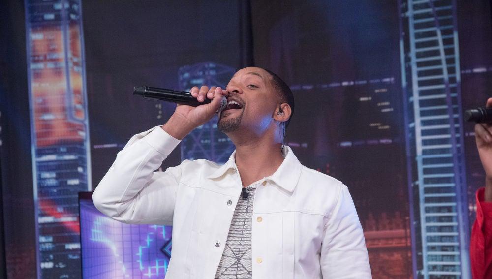Will Smith y Adym Evans, beatboxer, se lucen con un show inolvidable en directo en el programa 2.000 de 'El Hormiguero 3.0'