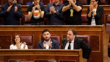 Junqueras, en el Congreso