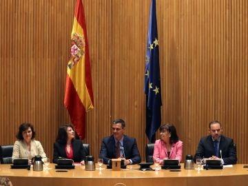 Sesión constitutiva de las nuevas Cortes Generales