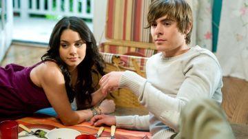 Vanessa Hudgens y Zac Efron en 'High School Musical'