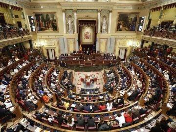 Elecciones Generales 2019: Vista general del hemiclíco del Congreso de los Diputados