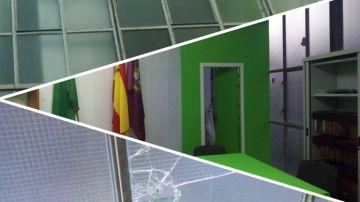 Imagen de la fachada de Vox en Bilbao