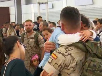 Más de un centenar de militares emprenden misión en Mali