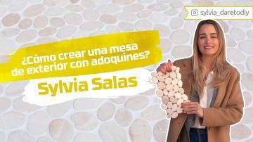 Sylvia Salas nos enseña cómo crear una mesa de exterior con adoquines