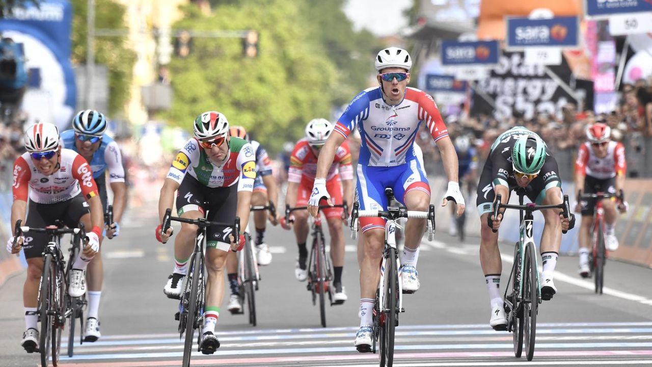 Démare Se Impone Al Sprint En La Décima Etapa Del Giro De
