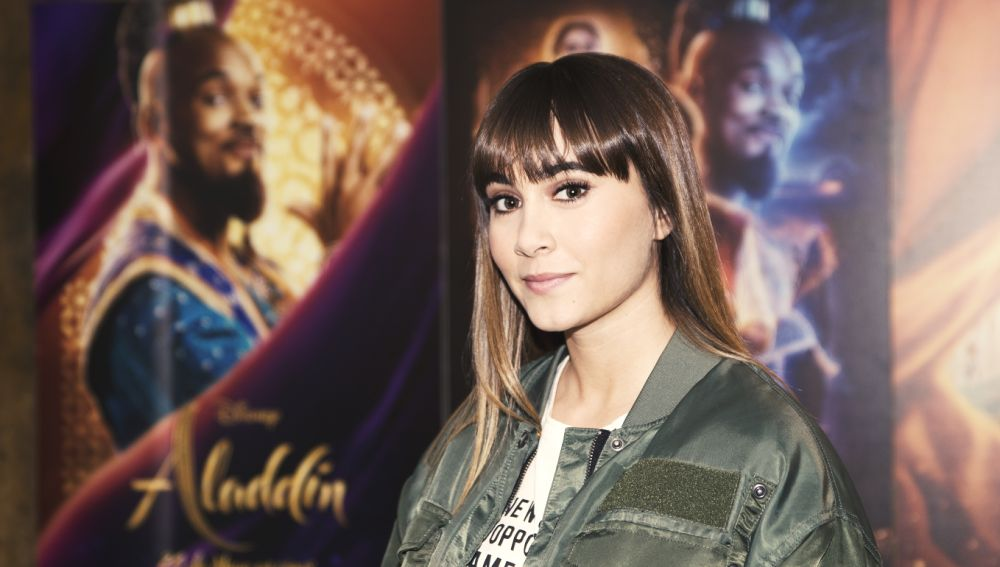 Aitana canta la banda sonora de 'Aladdin'