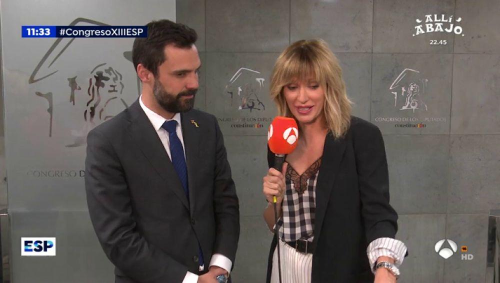 """Torrent, sobre el saludo entre Sánchez y Junqueras: """"Limitan las imágenes que salen del hemiciclo"""""""