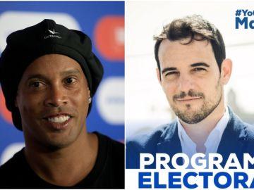 Ronaldinho y su apoyo a Manu Reyes