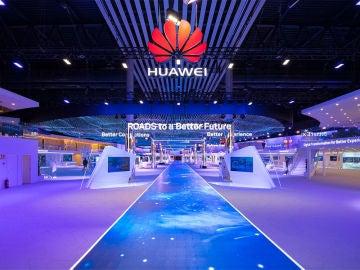 Stand de Huawei