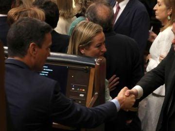 """laSexta Noticias 20:00 (21-05-19) El encuentro entre Oriol Junqueras y Pedro Sánchez en el Congreso: """"Tenemos que hablar"""""""