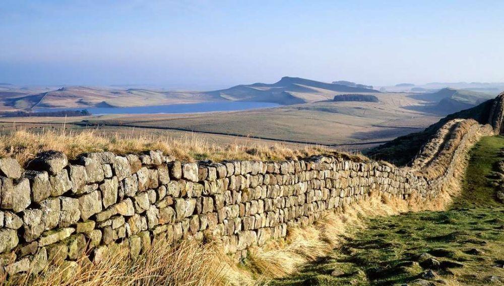 El Muro de Adriano, en Reino Unido