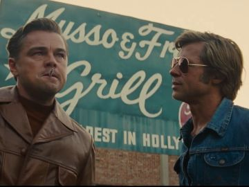 Leonardo DiCaprio y Brad Pitt en 'Once Upon a Time in Hollywood'