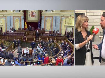 Iglesias: 'Si los ciudadanos han votado para que sean sus representantes que puedan ejercer como diputados'
