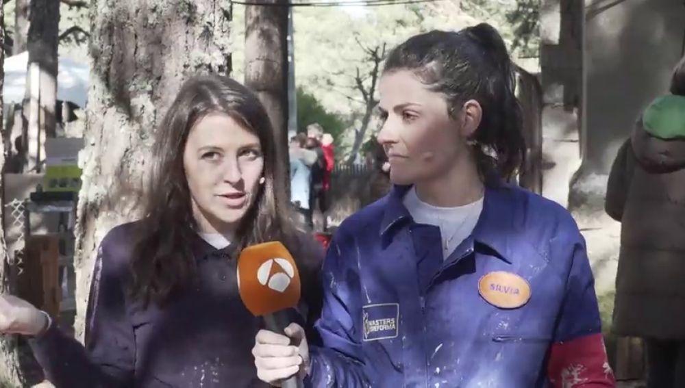 """Silvia y Maite, encantadas con la visita de Estrella Salietti: """"Ama el caos, así que está en el sitio perfecto"""""""