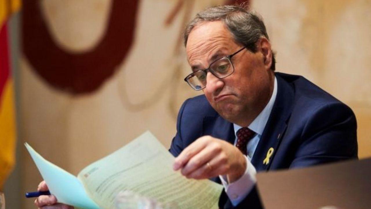 Torra: Voto A Cambio De Autodeterminación