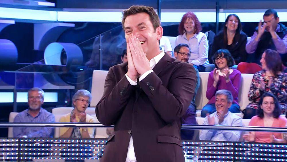 La divertida ronda de chistes árabes de Arturo Valls en '¡Ahora caigo!'
